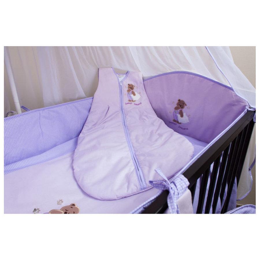 Baby slaapzak Sweat Dreams- violet-1