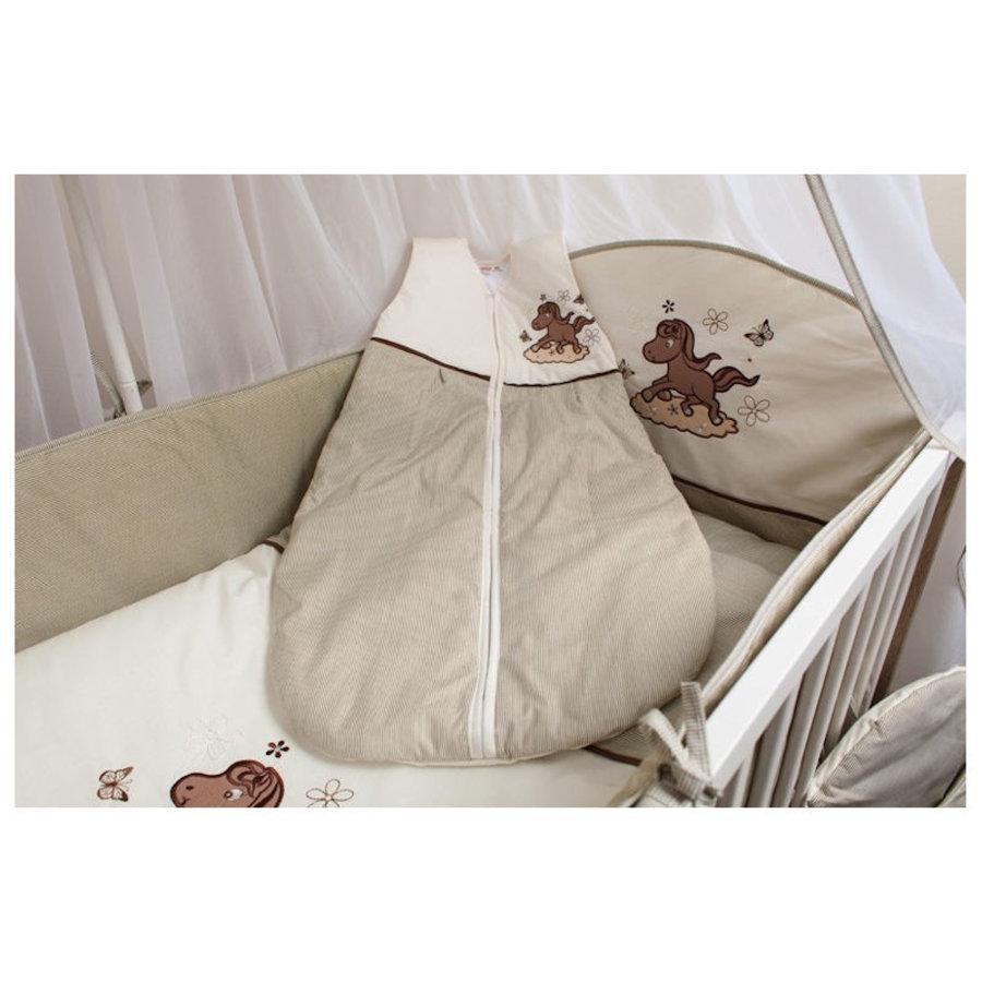 Baby slaapzak Paardje - beige-1
