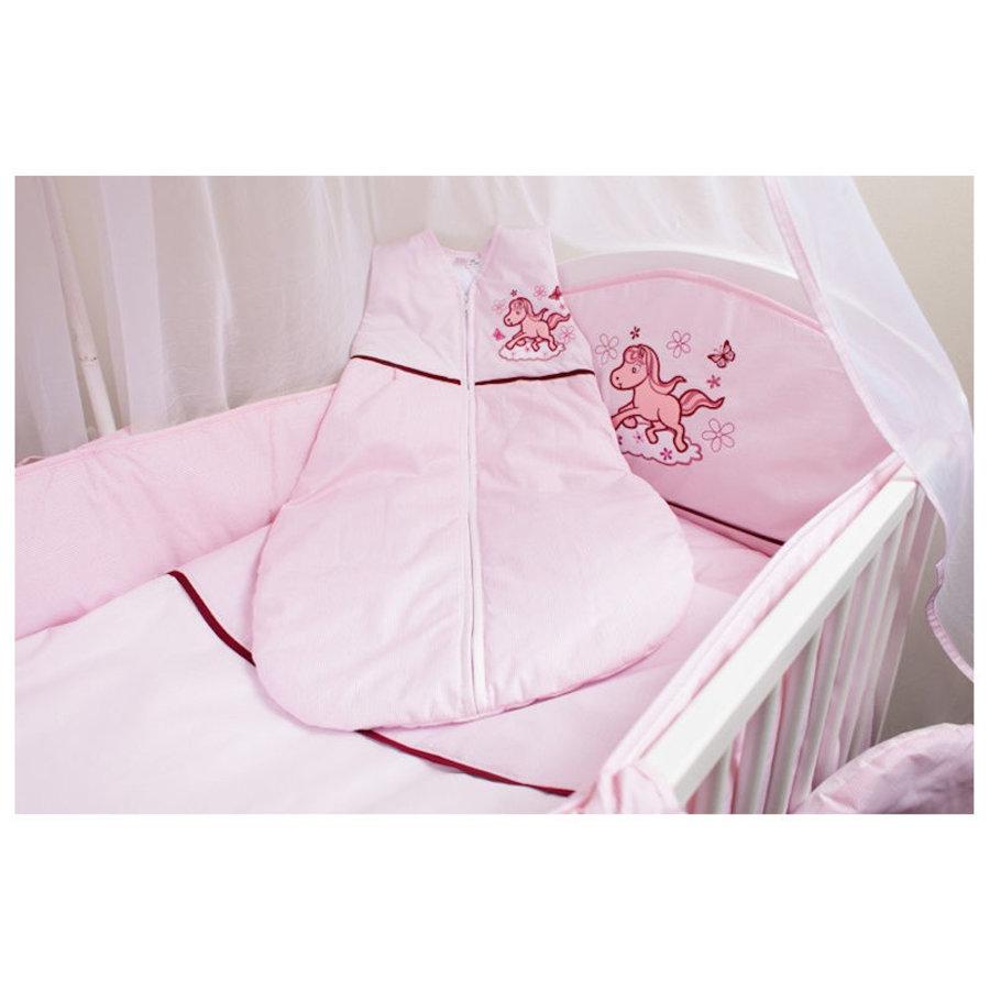 Baby slaapzak Paardje - roze-1