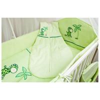 thumb-Baby slaapzak Giraffe - groen-1
