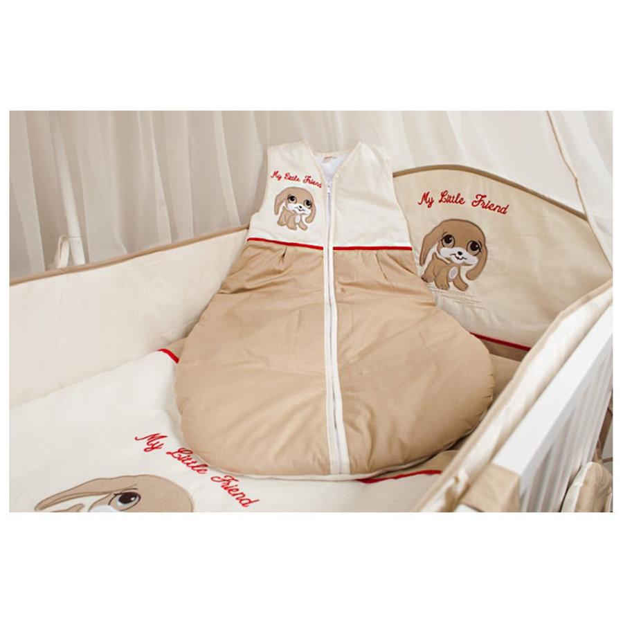 Baby slaapzak My Little Friend - beige-rood-1