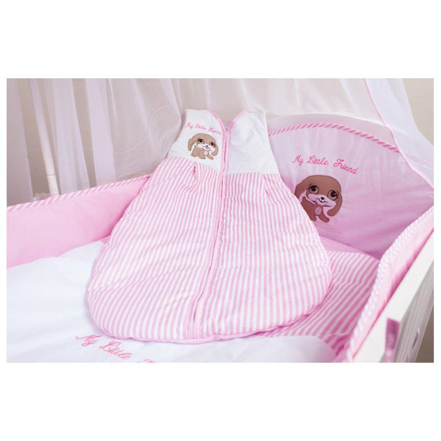 Baby slaapzak My Little Friend - roze-1