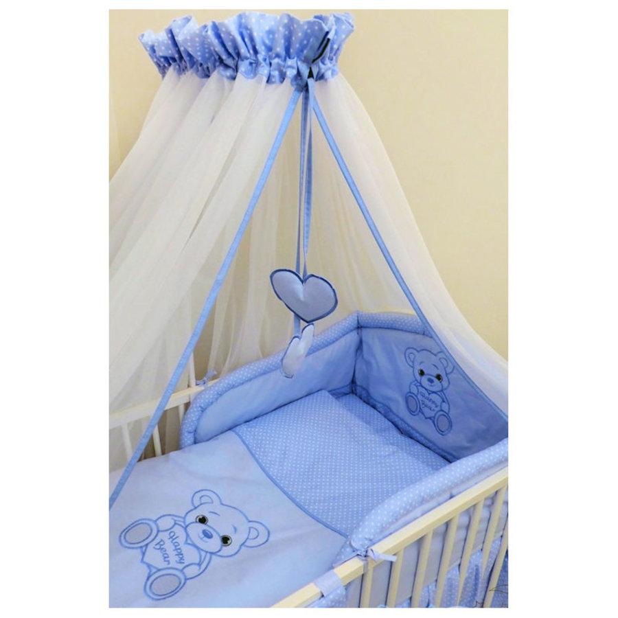 Bed hemeltje Happy Bear - blauw-2