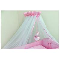 thumb-Bed hemeltje Happy Bear - roze-1