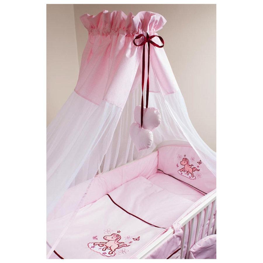 Bed hemeltje Paardje - roze-2
