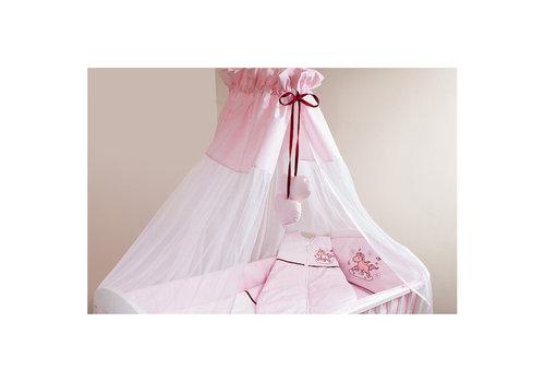 Bed hemeltje Paardje - roze