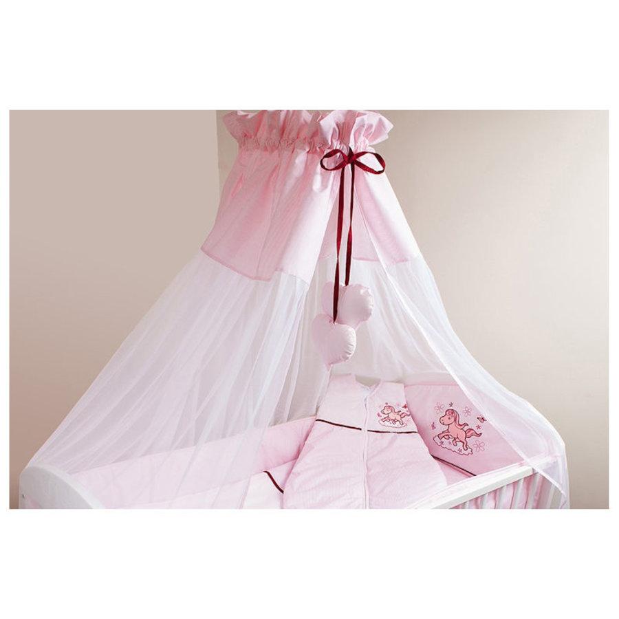 Bed hemeltje Paardje - roze-1