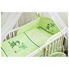 3-delig beddengoed Giraffe - groen