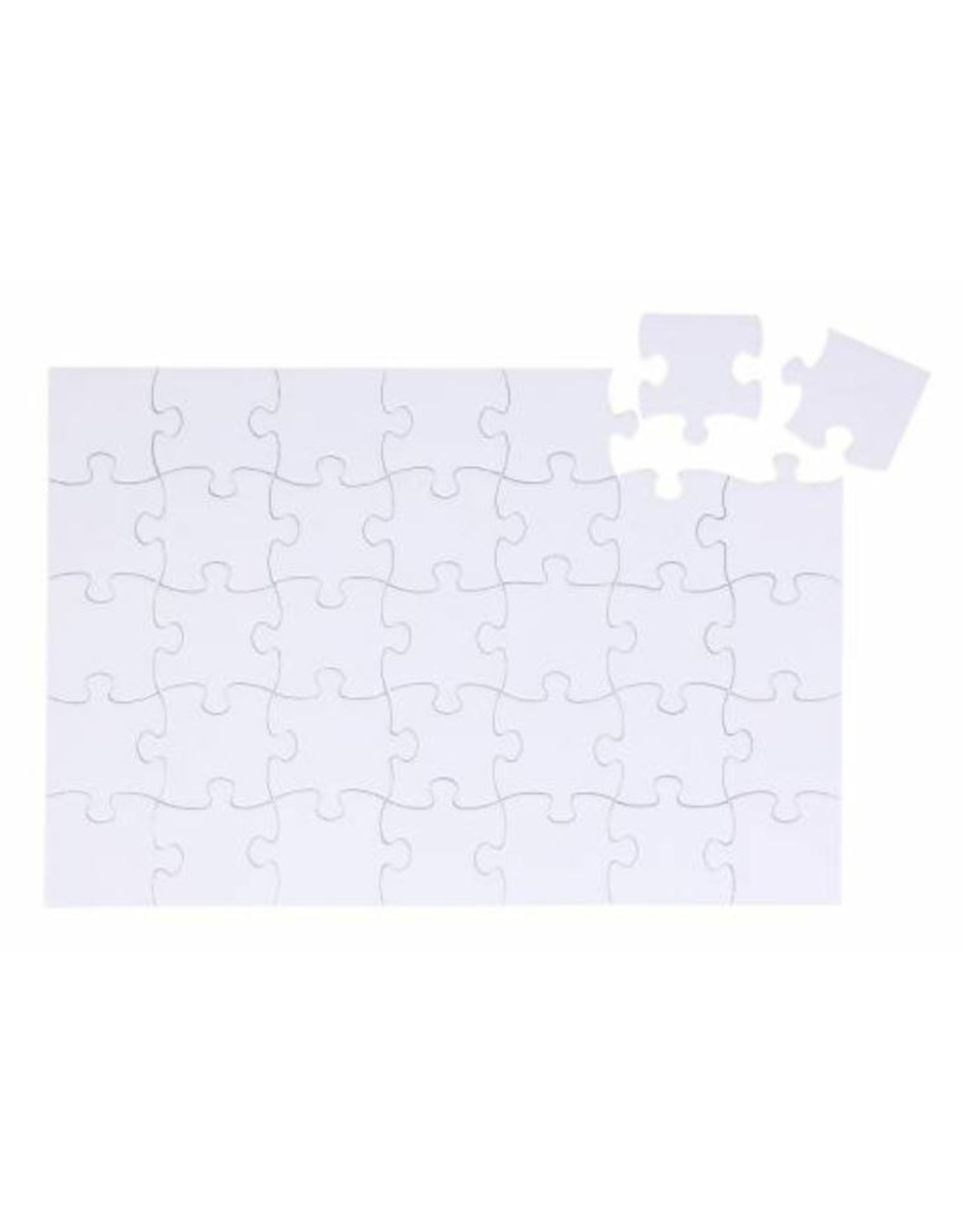 Sublimatie Puzzel A4 35 stk