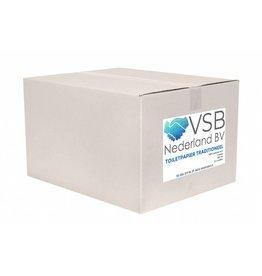 VSB Vouwhanddoek Z-vouw Cellulose Groen | 20 x 160 Vel - 2 laags