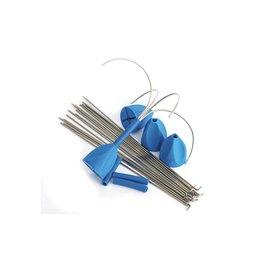 Gemini Tackle A.S. (Anti-snag) Grip Fixed Grip Wire  (1 x 4st)