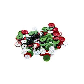 Gemini Tackle Sequins (approx. 100 - assorted colours)