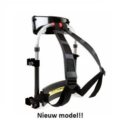 Breakaway Backrest (Rugdrager) (p/st) Zwart