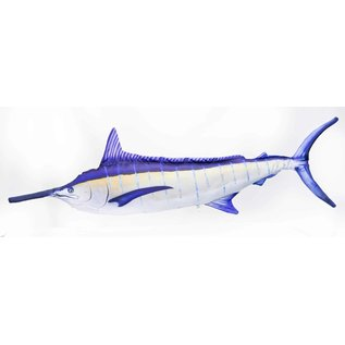 The Blue Marlin lit up  (200 cm)