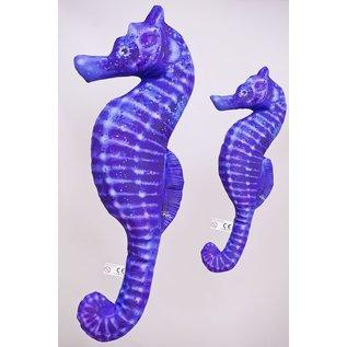 The Sea Horse - blue