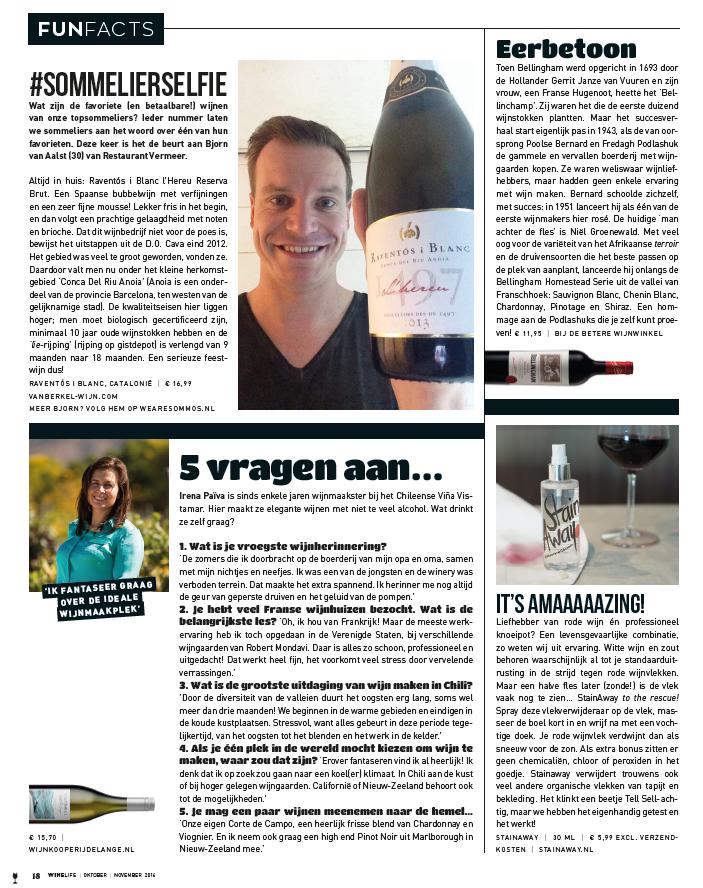 Rodewijnvlekken verwijderen #winelife magazine