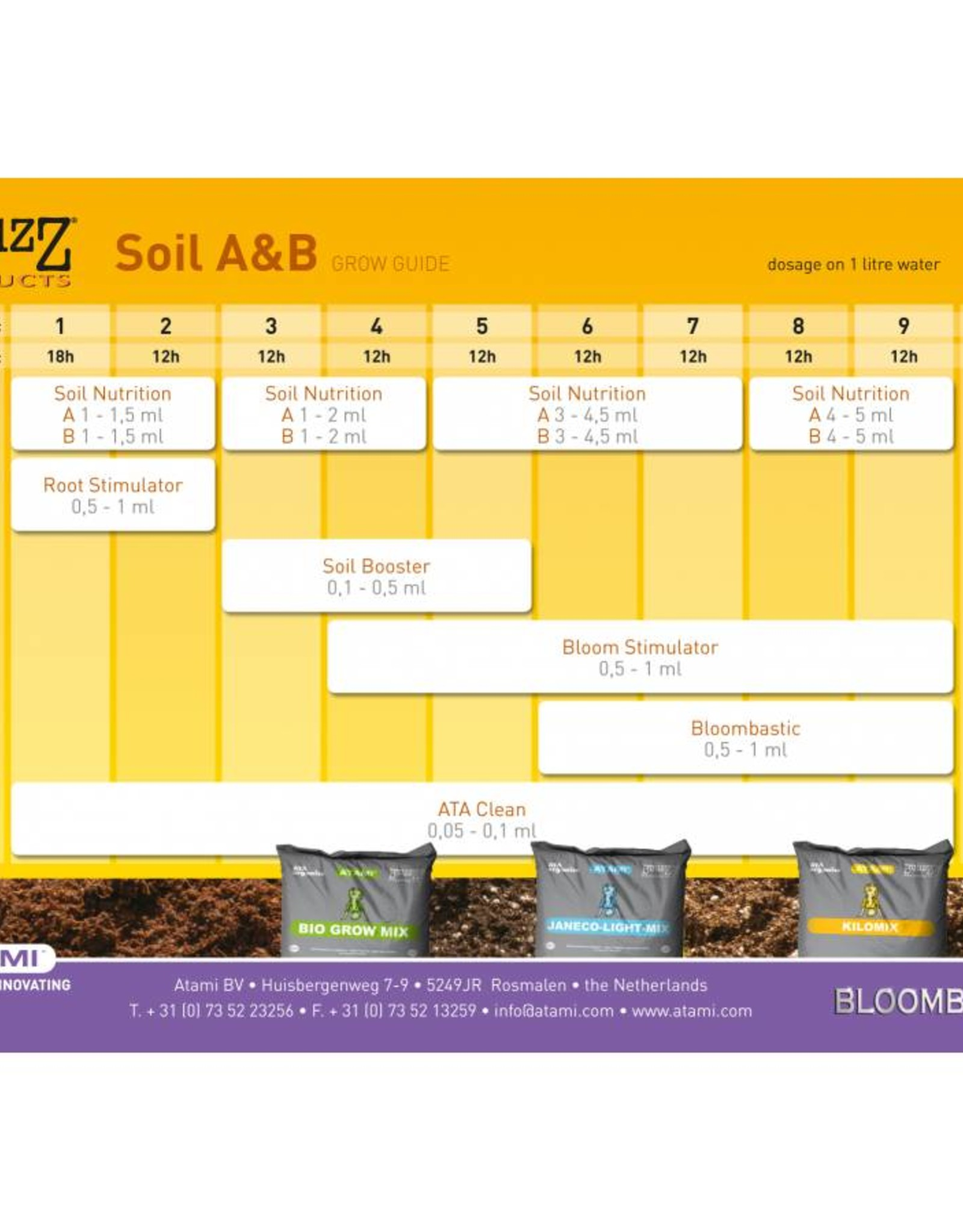 Atami Atami B`Cuzz Erde A + B