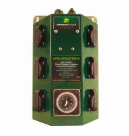 Greenpower 6x600W 2 x 10A