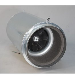 Isomax schallisolierter Rohrventilator 250mm/1480m3