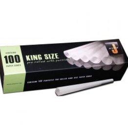 King Size Tubes - vorgefertigte konische Papierhüllen 100 stk.