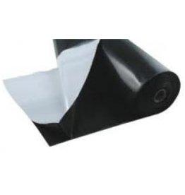 Schwarz/Weiss Folie dünn 2m breit Preis ganze Rolle 25x2m