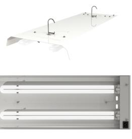 Secret Jardin T-Néon Reflektor 2x 55 Watt ohne Leuchtmittel