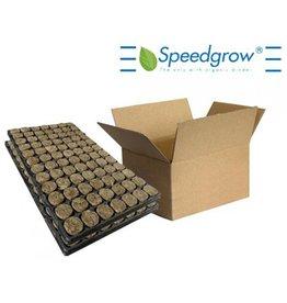 Speedgrow Green Anzuchtwürfel, 38x40mm, Tray à 84 Stück, Karton à 11 Trays