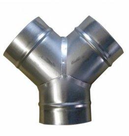 Y-Stück Rohrverteiler 127mm