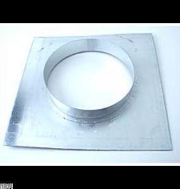 Wandflansch metall für 250mm 30x30cm