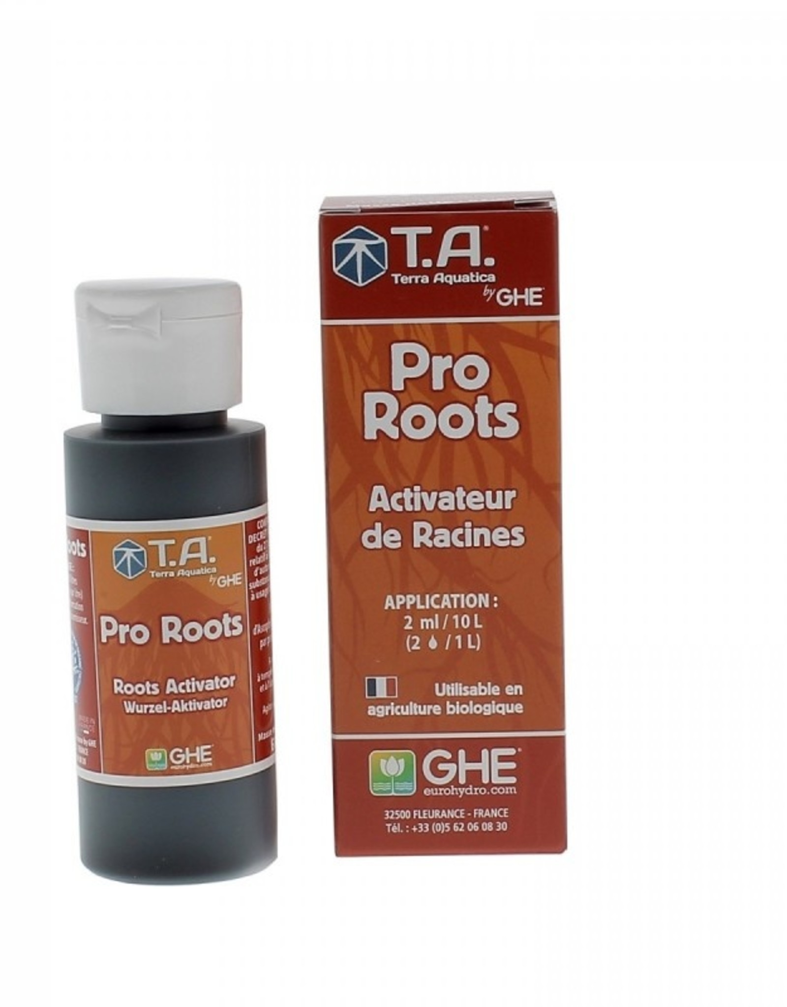 General Hydroponic GHE GHE Pro Roots   30ml / 60ml / 500ml Bio Roots