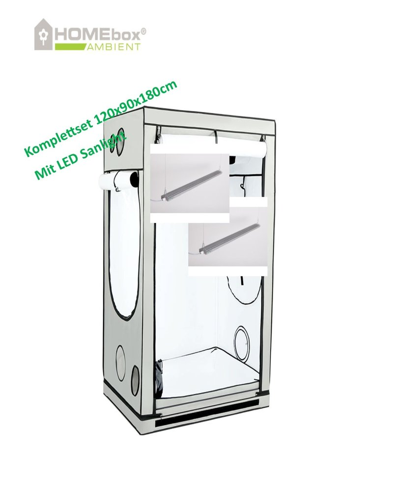 Homebox Growbox Set 120x90x180cm