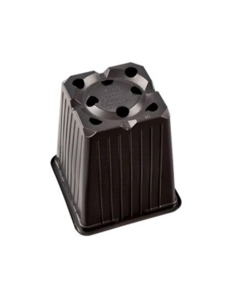 Topf viereckig Desch 9x9x10cm 8 Loch Karton mit 1232 Stück
