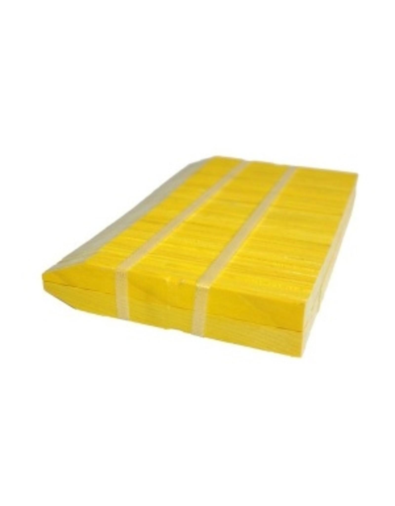Stecketiketten Holz gelb 100 Stk. 8x1.5cm