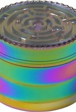 Grinder Metall Rainbow/Labyrinth 4-tlg