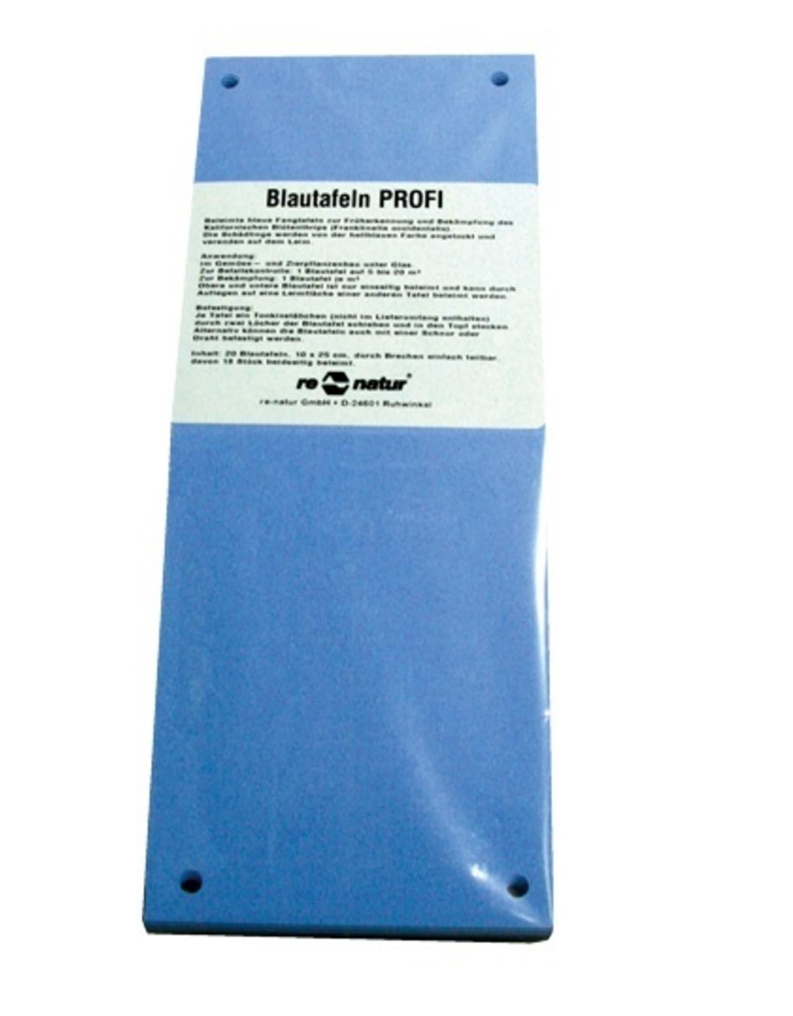 Blautafeln Profi 10x25cm 20 Stk.