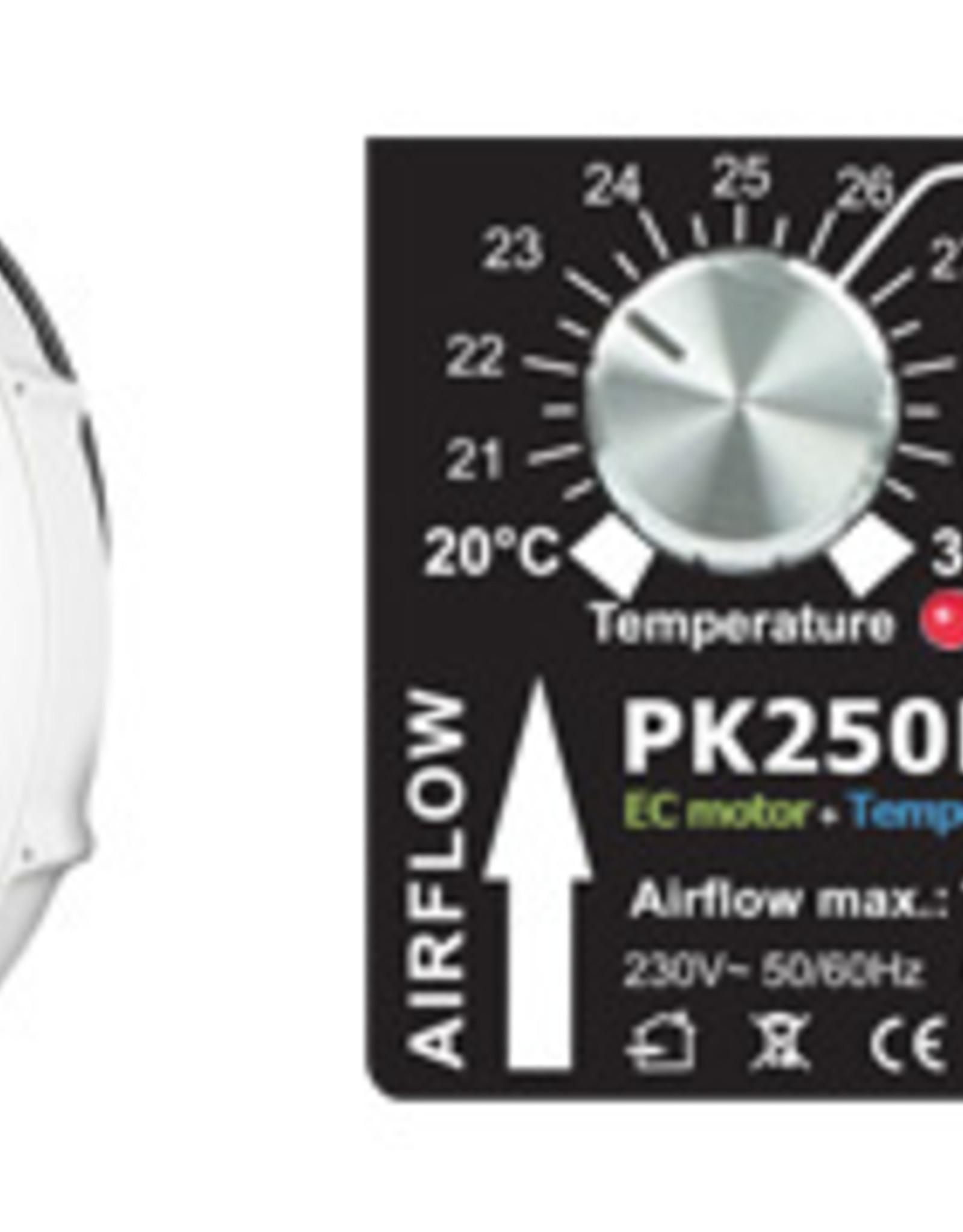 Prima Klima Prima Klima EC/TC 250mm 1450m3/h