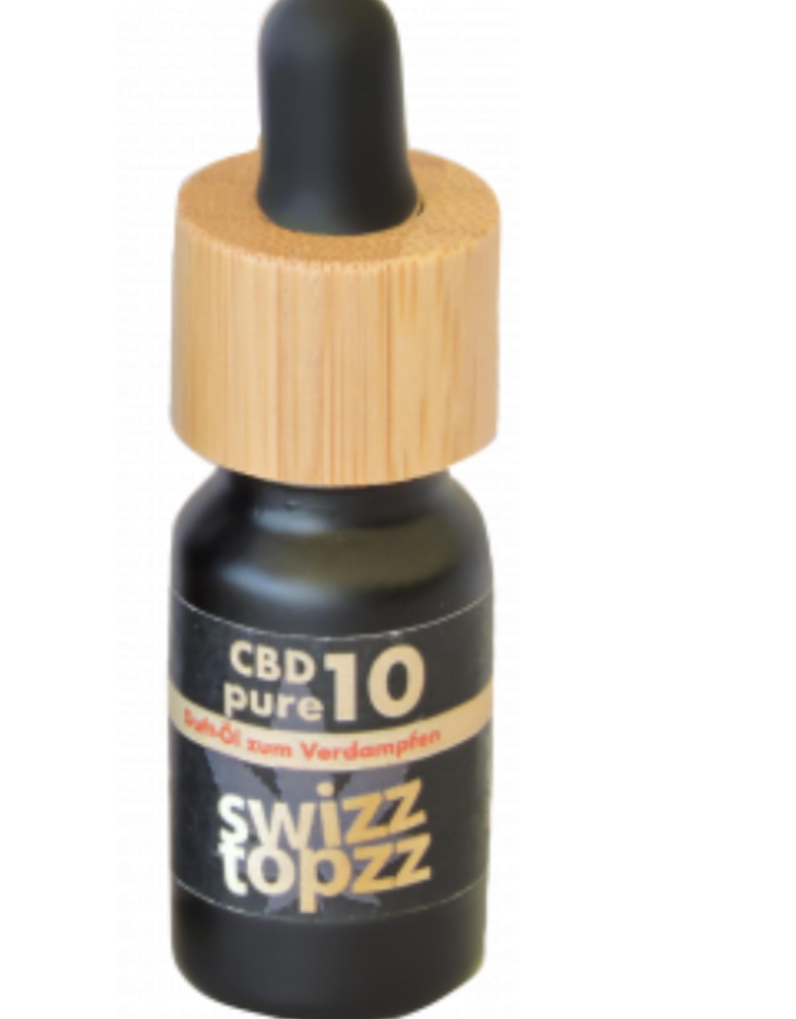 swizzTOPzz CBD Pure10% 10ml  Swizztopzz