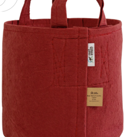 Root Pouch rot 30l mit Griffen