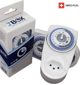 Mechanische Zeitschaltuhr Tempo Box TBOX 1M 230V