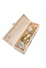 Hausberg Gin Hausberg Gin-Tasting Box mit No.1 & No.2 0,1l (44,4 % Vol. Alk. in den Spirituosen)