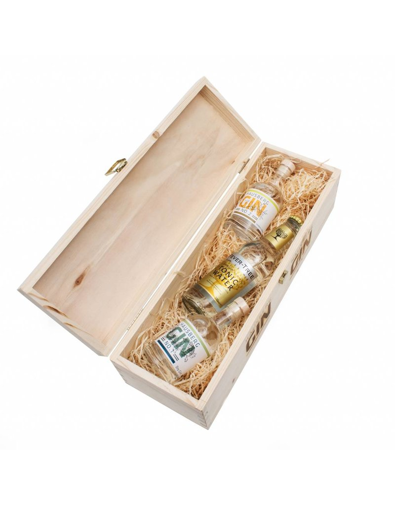 Hausberg Gin Hausberg Gin-Tasting Box w/ No.1 & No.2 0,1l (44,4 % Vol. Alc. in the Spirits)
