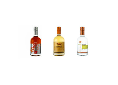 Rum, Whisky. Liqueur & Fruit Spirits