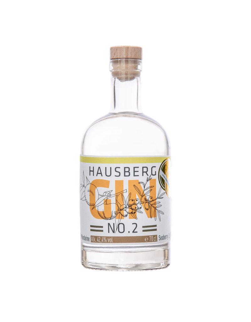 Hausberg Gin Hausberg Gin No.2 0,7l mit 42,4 % Vol. Alkohol (57,00€/Liter)