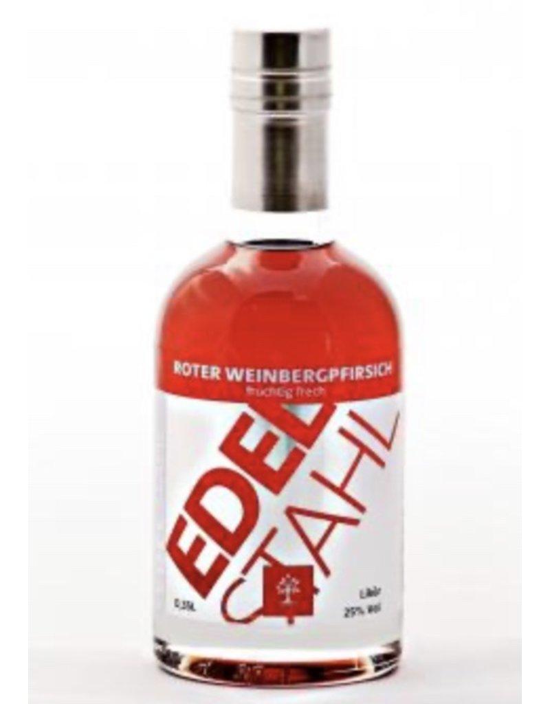 Edelstahl Edelstahl Roter Weinbergpfirsich-Likör 0,35l mit 25 % Vol. Alkohol (51,14€/Liter)
