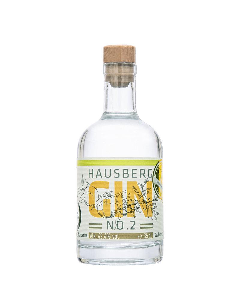 Hausberg Gin Hausberg Gin No.2 0,35l mit 42,4 % Vol. Alkohol (71,14€/Liter)