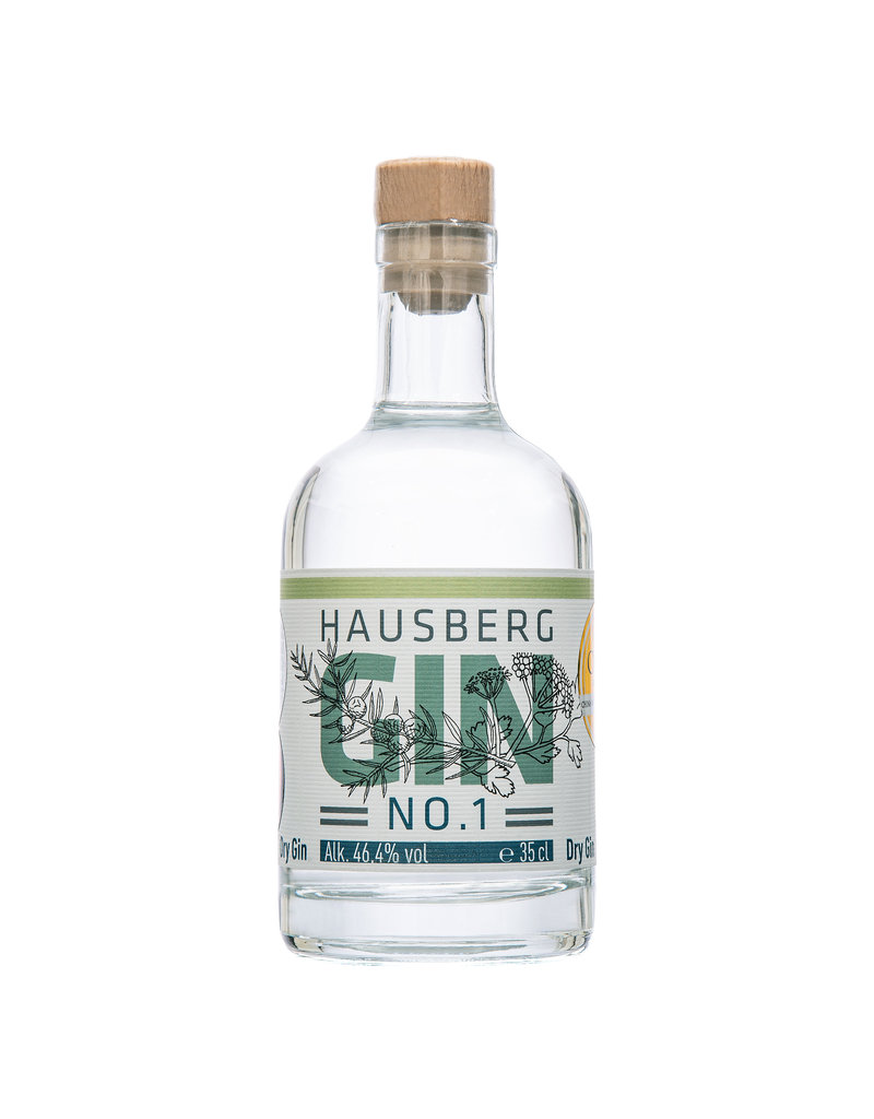 Hausberg Gin Hausberg Gin. No.1 0,35l mit 46,4 % Vol. Alkohol  (71,14€/Liter)