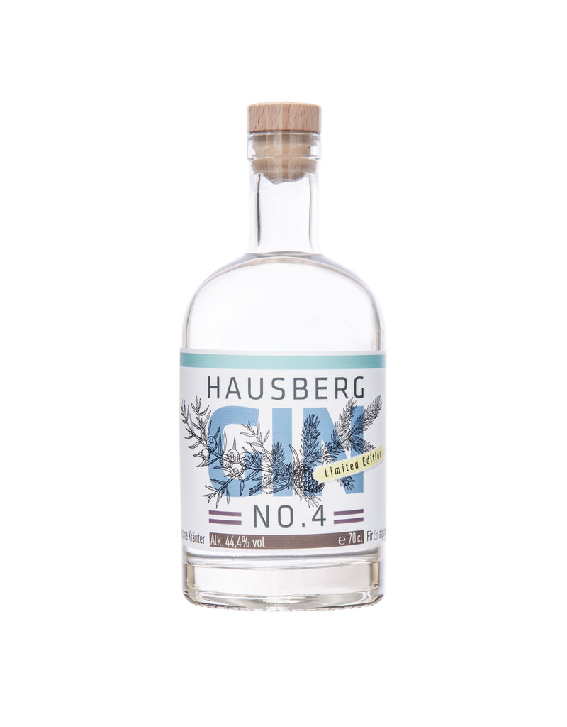 Hausberg Gin Hausberg Gin No.4 Limited Edition 0,7l w/ 44,4 % Vol. Alcohol (68,43€/Liter)