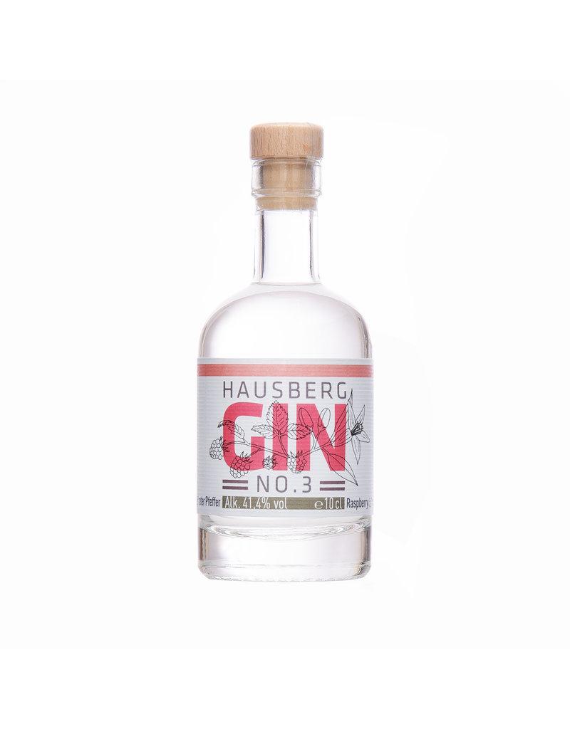 Hausberg Gin Hausberg Gin No.3 0,1l mit 41,4 % Vol. Alkohol   (99,00€/Liter)