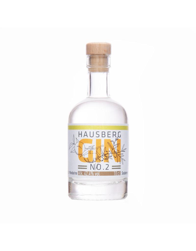 Hausberg Gin Hausberg Gin No.2 0,1l mit 42,4 % Vol. Alkohol   (99,00€/Liter)