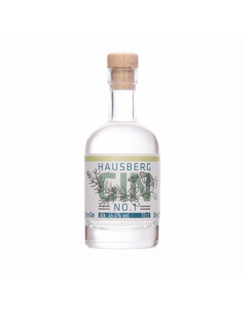 Hausberg Gin Hausberg Gin No.1 0,1l mit 46,4 % Vol. Alkohol  (99,00€/Liter)